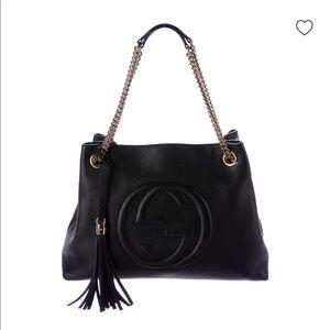 Gucci Bags - GUCCI Soho Chain Shoulder Bag